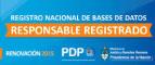 Responsable Registrado en Registro Nacional de Base de Datos