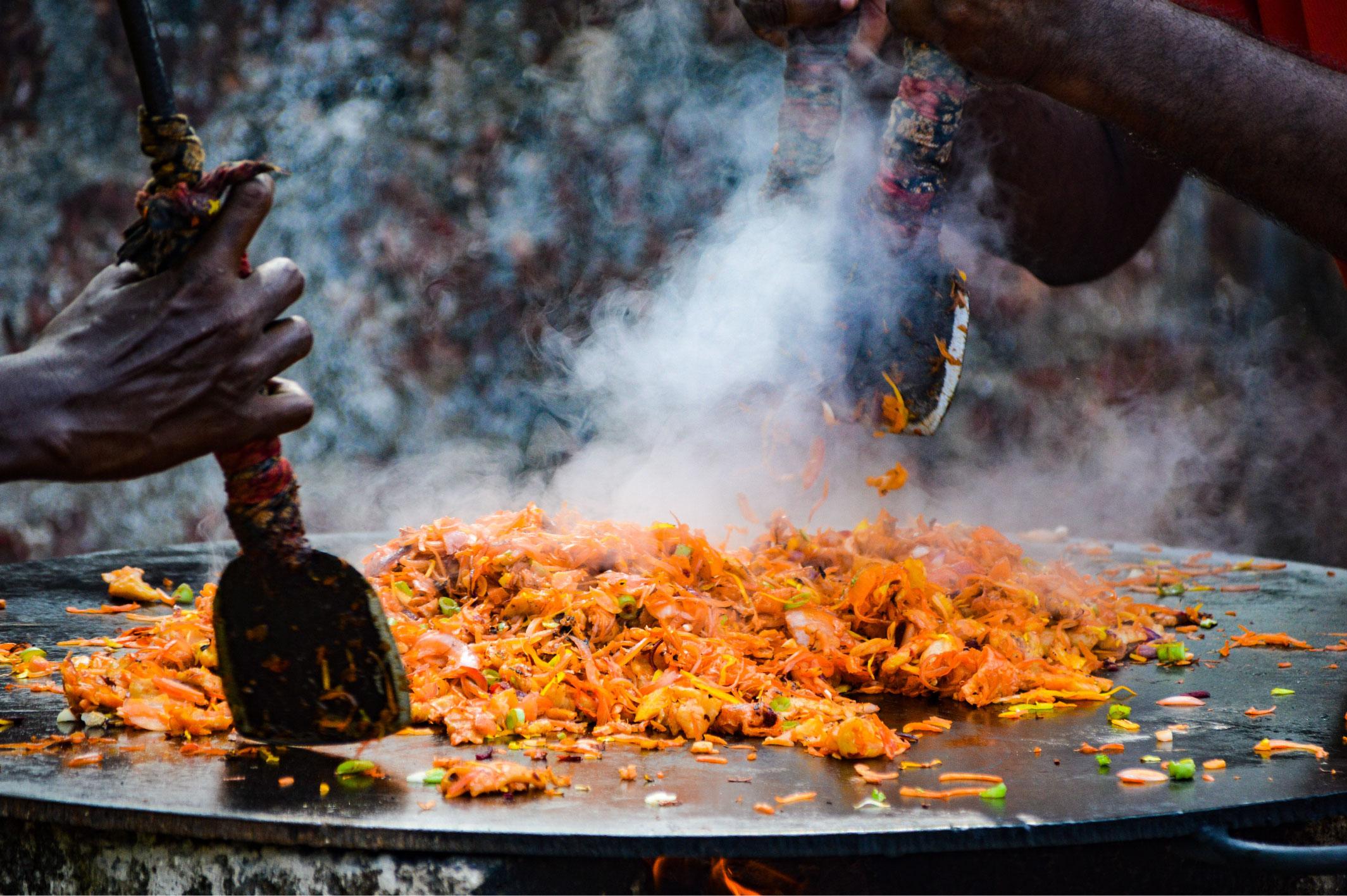 sur de la india comida