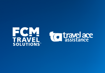 Logos FCM y Travel Ace