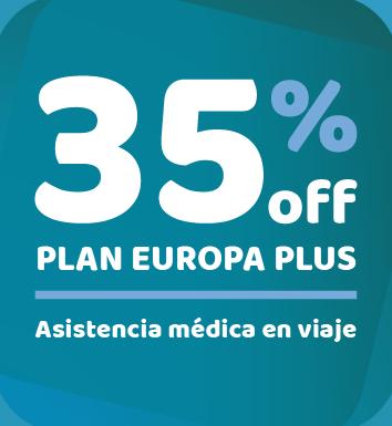 35%off Plan Europa Plus